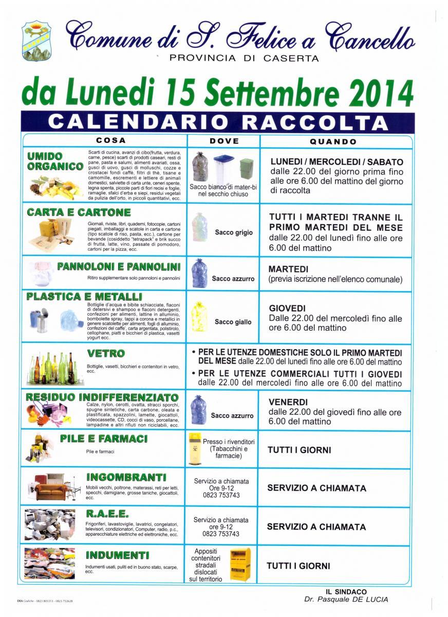 Isola Ecologica San Felice Sul Panaro home page - comune di san felice a cancello